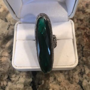 Jewelry - Dark Green Quartz Ring